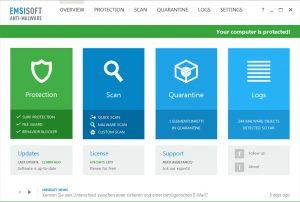 Emsisoft Anti-Malware 2020 Crack + License Key Download Here